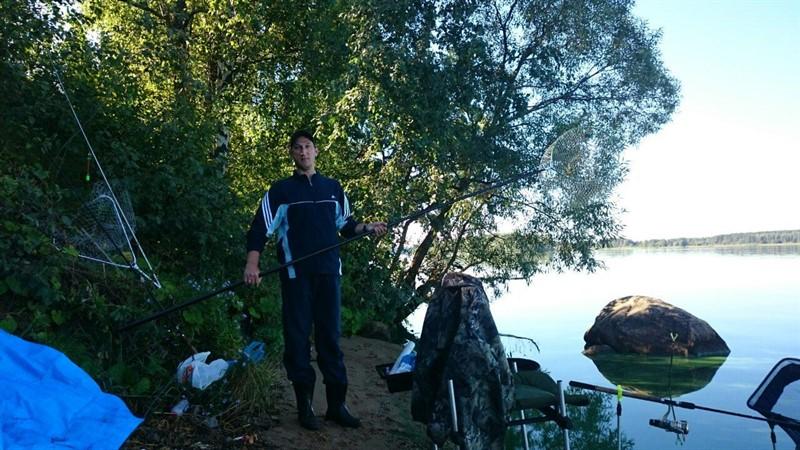 Рыбалка ночью на Волге у Калязина