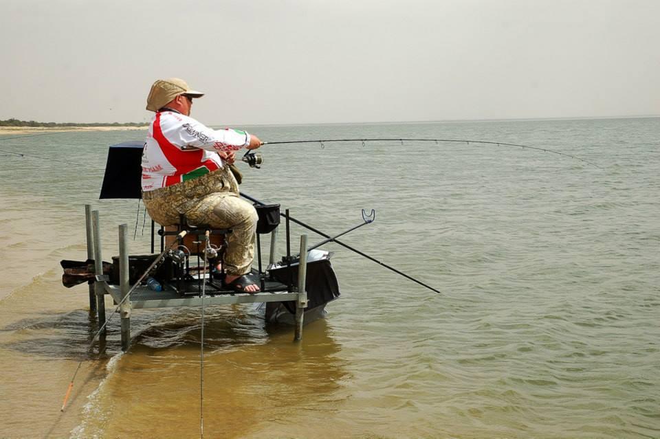 Платформа для рыбалки своими руками