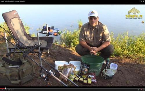 фидерная рыбалка с салапиным